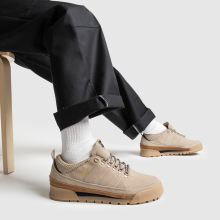 adidas skateboarding beige & brown jake boot 2.0 low trainers
