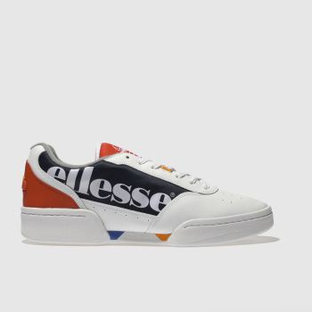 Ellesse White & Navy Piacentino Mens Trainers