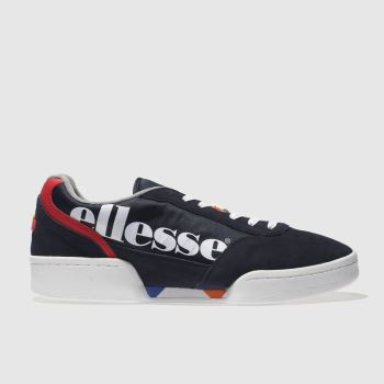 Ellesse Navy & White Piacentino Mens Trainers