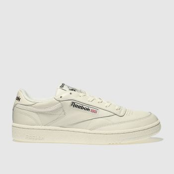 Reebok White Club C 85 Vintage Mens Trainers