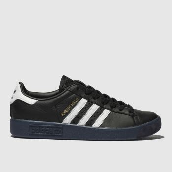 Adidas Black & White Forest Hills Mens Trainers