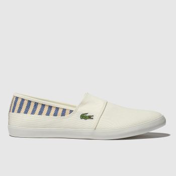 Lacoste White Marice Mens Trainers