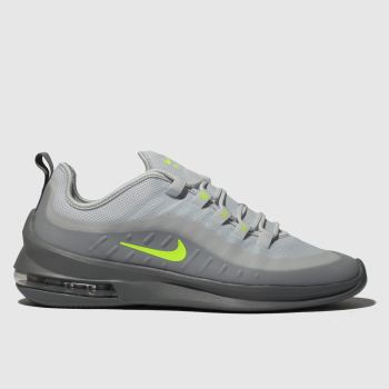 Nike White & grey Air Max Axis Mens Trainers