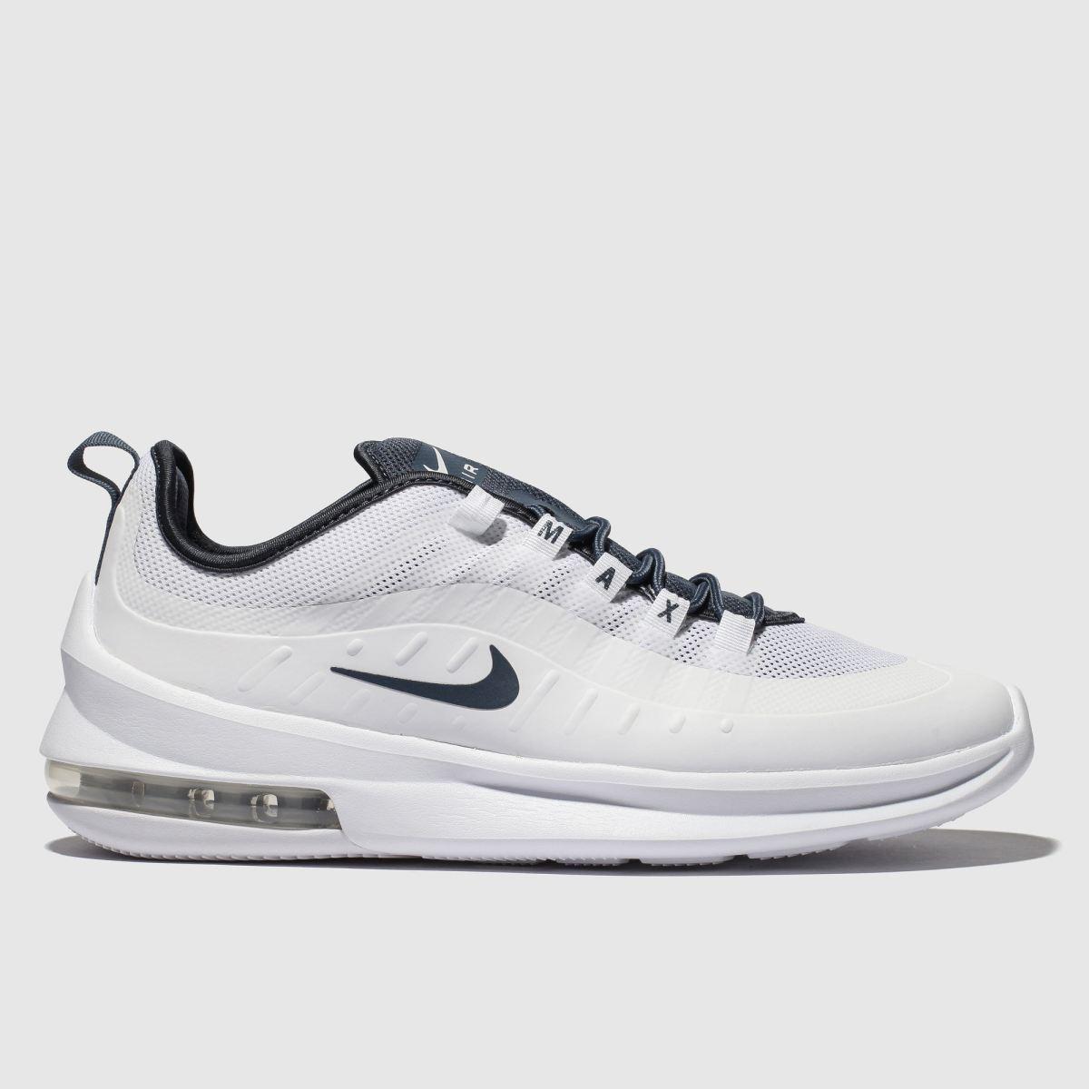 Nike White & Blue Air Max Axis Trainers