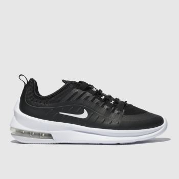 new style 38c00 d1b49 Nike Black   White Air Max Axis Mens Trainers