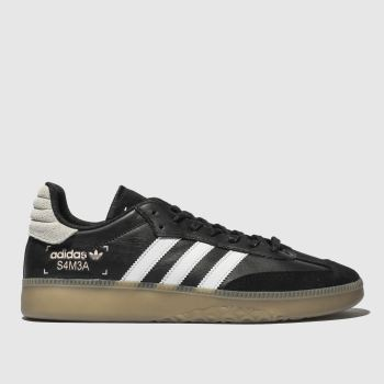 Adidas Black & White Samba Rm Mens Trainers