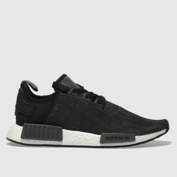 Adidas Grey Nmd_R1 Mens Trainers