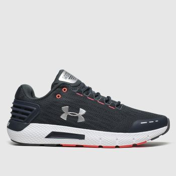 under armour grey charged rogue trainers