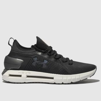 Under Armour Black & White Hovr Phantom Se Trainers