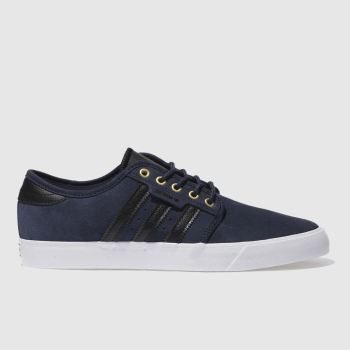 ADIDAS NAVY SEELEY TRAINERS