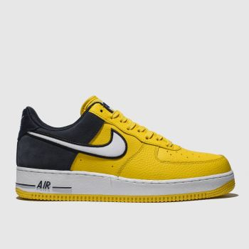 Nike Yellow Air Force 1 07 Lv8 1 Mens Trainers
