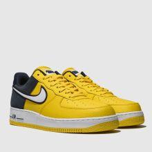 Herren nike Gelb Air Force 1 07 Lv8 1 Sneaker