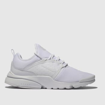 Nike White Presto Fly World Mens Trainers