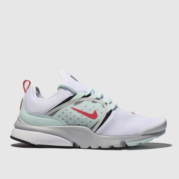 Nike White & Pl Blue Presto Fly World Mens Trainers