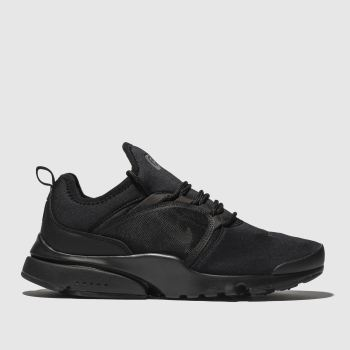 nike black presto fly world trainers