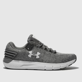 Under Armour Grey Charged Rogue Twist Mens Trainers