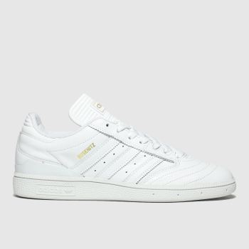adidas skateboarding white busenitz trainers