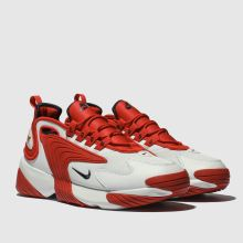 5af29783a8ca mens white   red nike zoom 2k trainers