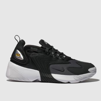 Nike Black & Silver Zoom 2k Mens Trainers