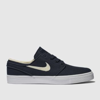 best sneakers a58ba aed6c Nike Sb Navy   White Zoom Stefan Janoski Mens Trainers