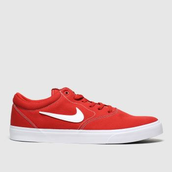 Nike Sb Red Charge Mens Trainers