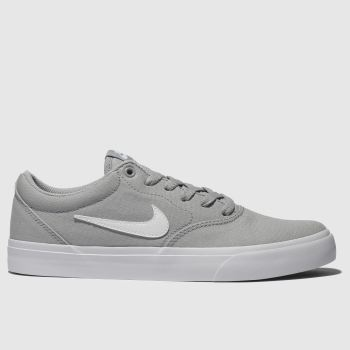 Nike SB Grey Charge Solarsoft Mens Trainers