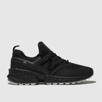 New Balance Black 574 V2 Mens Trainers