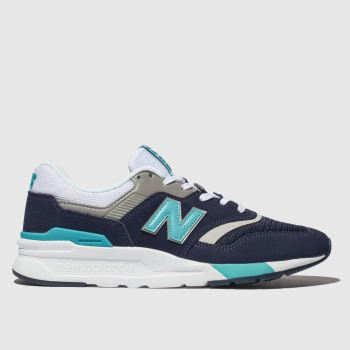 New Balance Navy & White 997H Mens Trainers