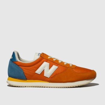 best service 310a3 bcf1a New Balance Orange 220 Mens Trainers
