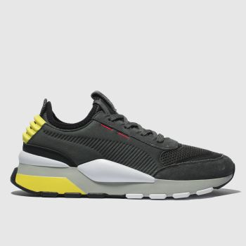 Puma Grey Rs-0 Winter Inj Toys Mens Trainers