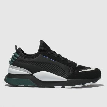 Puma Black & Green Rs-0 Winter Inj Toys Mens Trainers
