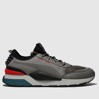 Puma Grey Rs-0 Tracks Mens Trainers