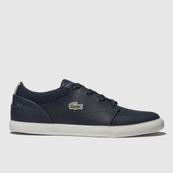 edc2adfcf8eabd Lacoste Navy Bayliss Mens Trainers