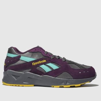 Reebok Dark Purple Aztrek Mens Trainers