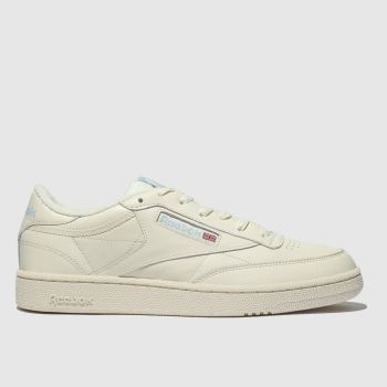 c8d4ad2ecd157 Reebok White Club C 85 Mu Mens Trainers