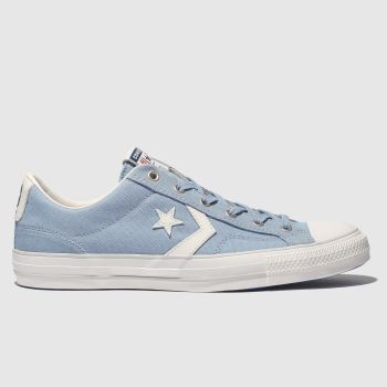 Converse Pale Blue Star Player Ox Mens Trainers