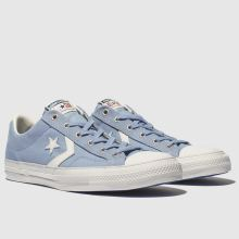 850df451742 mens pale blue converse star player ox trainers