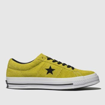 Converse Yellow One Star Ox Mens Trainers