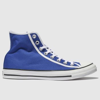 Converse Blue Chuck Taylor All Star Hi Mens Trainers