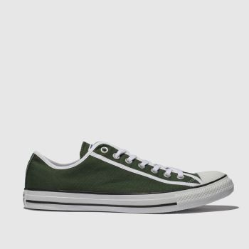 converse green chuck taylor all star ox trainers