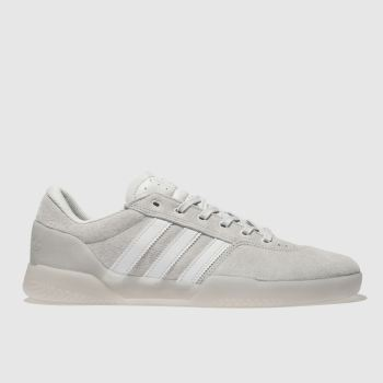 mens natural adidas skateboarding city cup trainers | schuh
