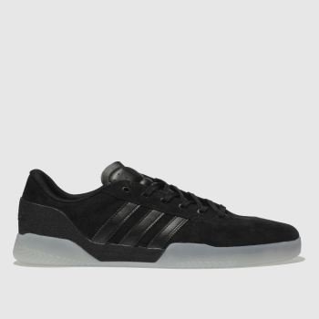 ADIDAS SKATEBOARDING BLACK CITY CUP TRAINERS