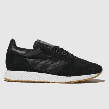 Adidas Black Forest Grove Mens Trainers