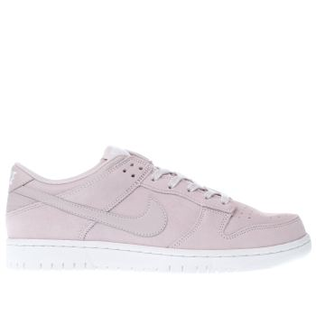 Nike Pink Dunk Low Mens Trainers