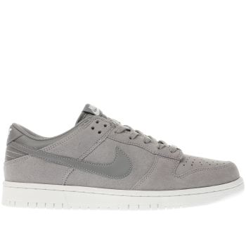 Nike Grey Dunk Low Mens Trainers