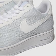 420710dfe954f mens pale blue nike air force 1 flyknit trainers | schuh