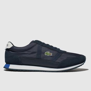Lacoste Navy & White Partner Mens Trainers