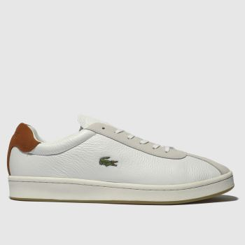 Lacoste White Masters Mens Trainers