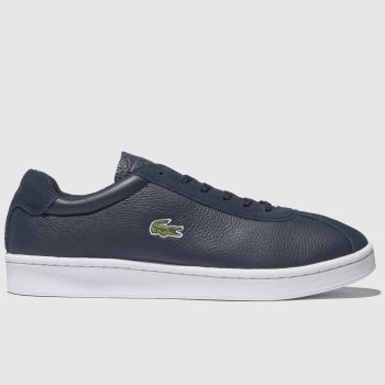 Lacoste Navy & White Masters Mens Trainers