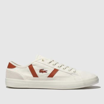 Lacoste White Sideline Mens Trainers